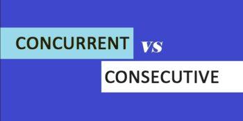 Concurrent versus consecutive offenses in Texas